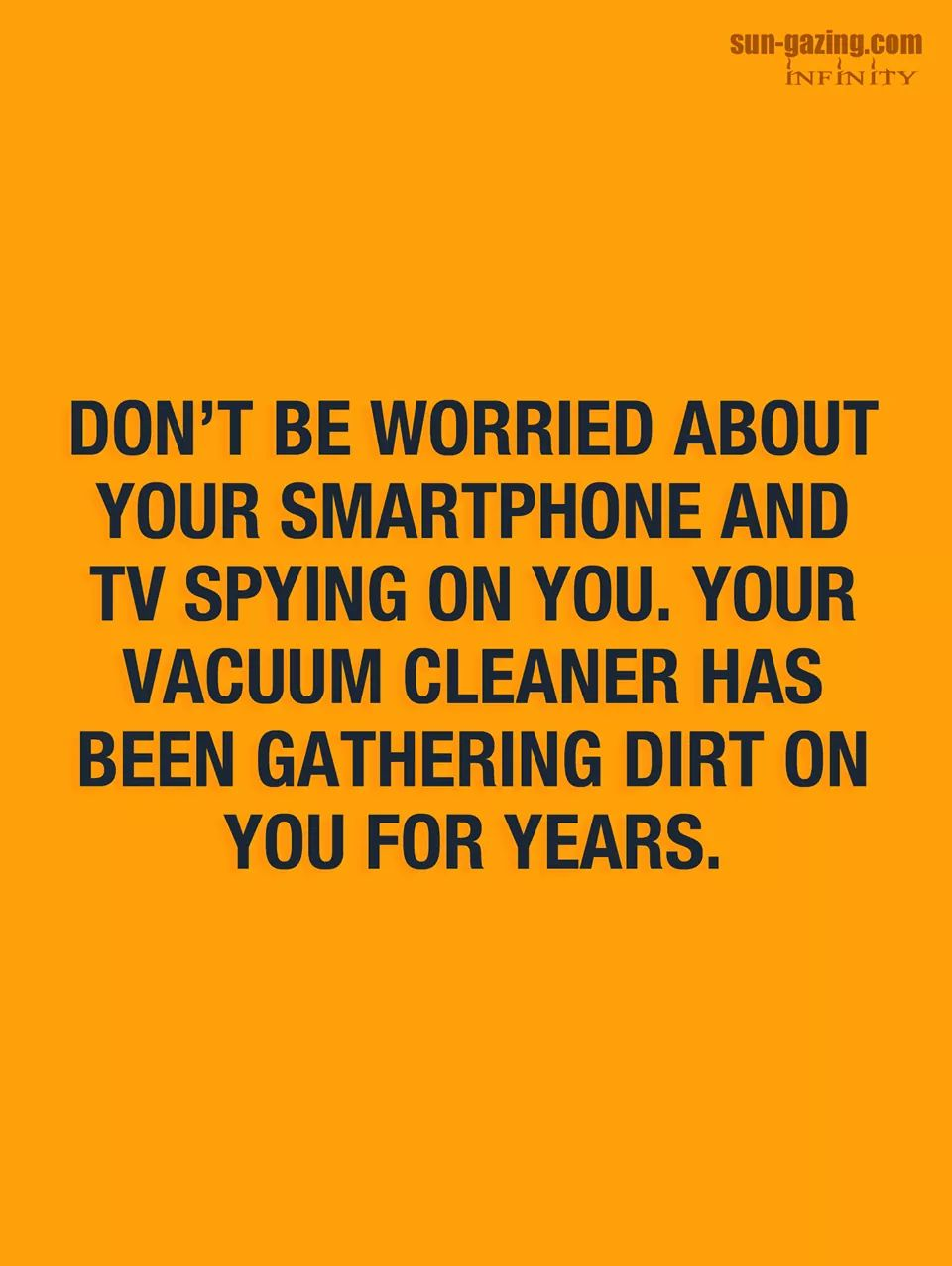 Smartphone and TV spying on you?