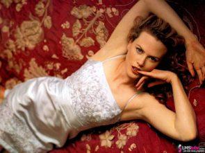 Nicole Kidman in silk