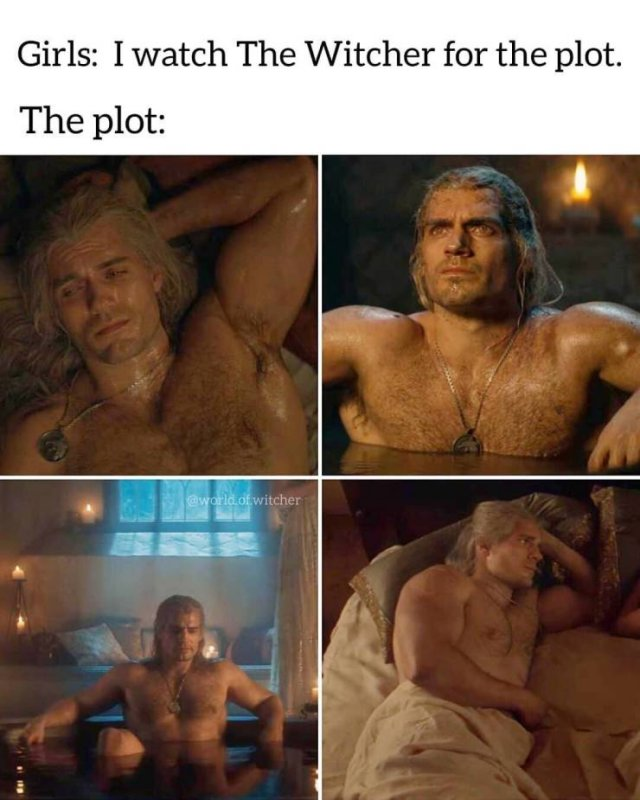 the witcher plot