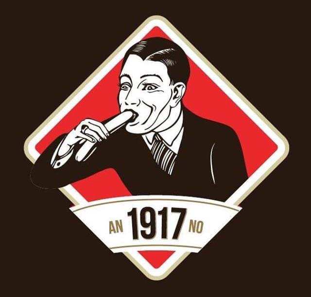 Logo of Czech sausage company