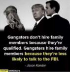 Gangsters Don't Hire Family Members