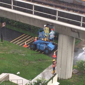 a confusing construction site