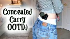 Concealed Carry OOTD featuring Concealment Shorts and Hogue Grip