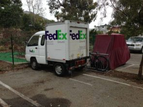 fedex trucker