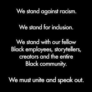 Marvel Studios stands against racism
