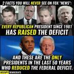 RAISED THE DEFICIT