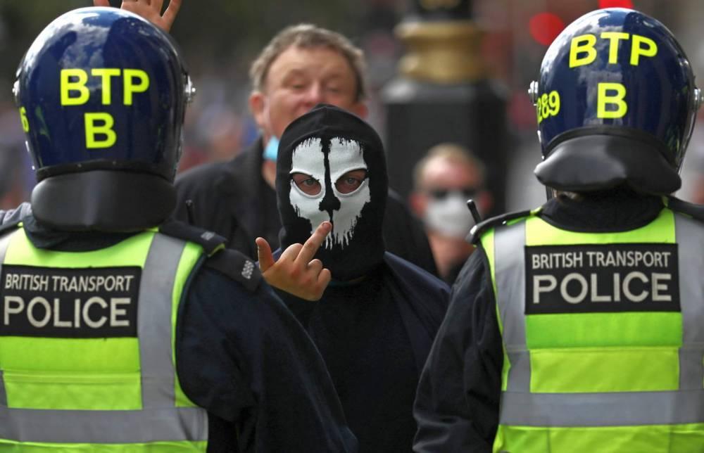 fuck the British Transport Police