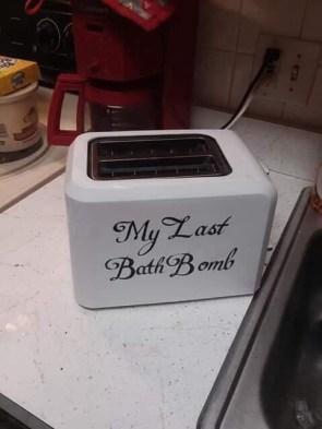 my last bath bomb