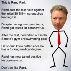 DON'T BE LIKE RAND