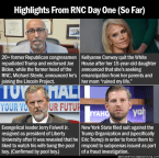 Highlights From RNC Day One