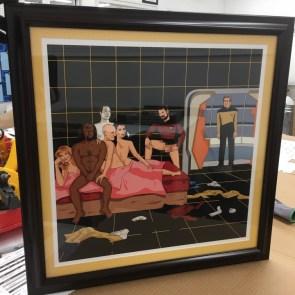 Awkward Star Trek Orgy
