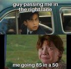 idiots speeding is worse