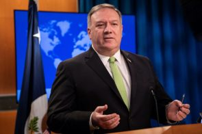 WATCH Pompeo announces sanctions on international tribunal prosecutor aide