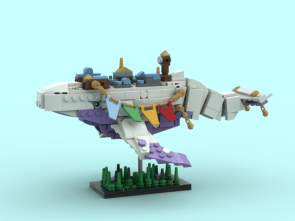 City on the Flying Whale