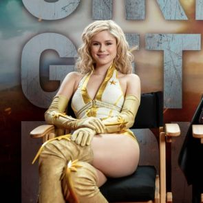 Erin Moriarty is a Super Hero