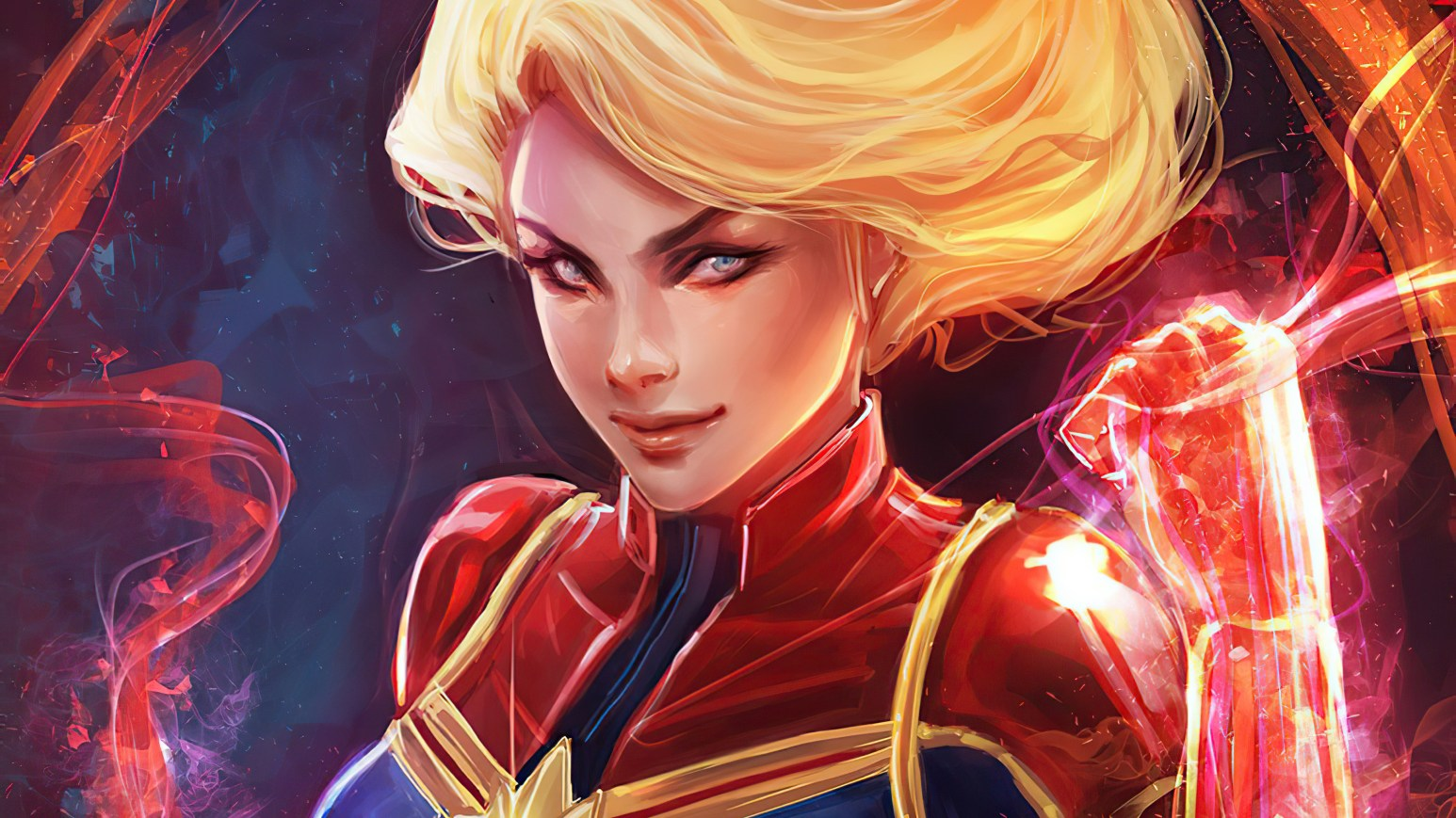 Captain Marvel's Red Hand