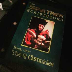 Star Trek Scriptbooks Book One The Q Chronicles