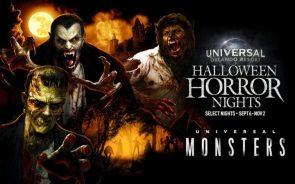 Universal orlando resort Halloween Horror nights 9-6 through -11-2 omni corp