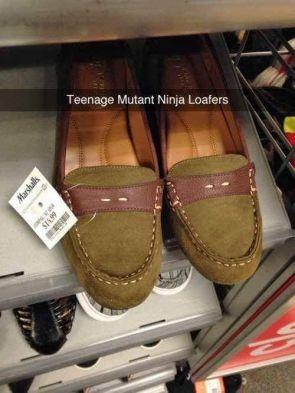 Teenage Mutant Ninja Loafers