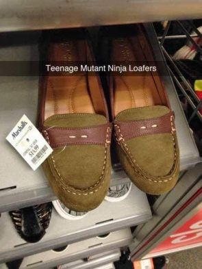 Teenage Mutant Ninja Loafers