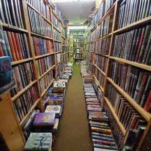 The Tacoma Book Center I have a lot more photos like this I love this place Over 500000 books