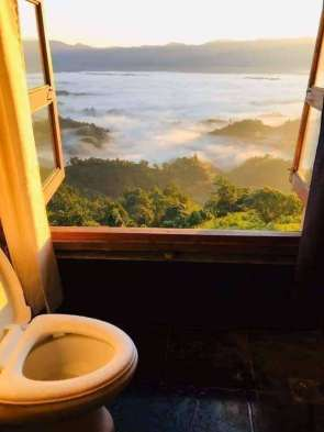 shitter with a view