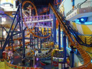 Cosmo's World – this indoor theme park occupies floors 5 through 8 of Berjaya Times Square Kuala Lumpur Malaysia 2048×1536