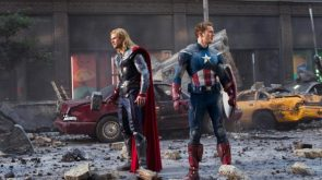American Captain and Thunder Man