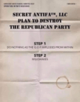 Secret Antifa LLC Plan To Destroy The Republican Party