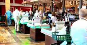 Florida grocery store bucks mask mandate owner says Covid death toll is 'hogwash'