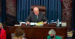 Trump acquitted Senate votes 57-43 at impeachment trial