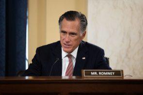 "Mitt Romney points out GOP wasn't concerned about debt ""spending massively"" under Trump"