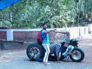 human motorcycle
