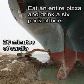 20 minutes of cardio