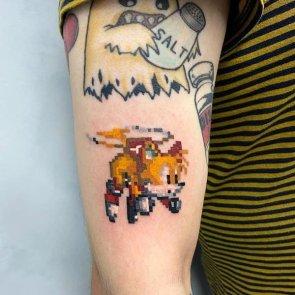 tails tattoo
