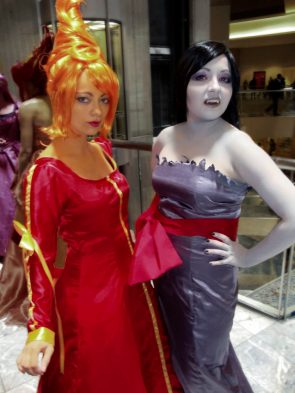 Flame Princess and Marceline