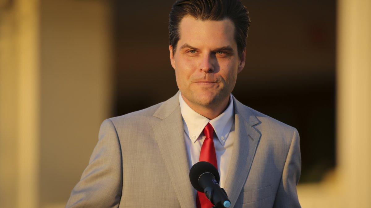 Matt Gaetz Using Donors Dollars on Legal Bills as Feds Investigate Possible Sex Trafficking