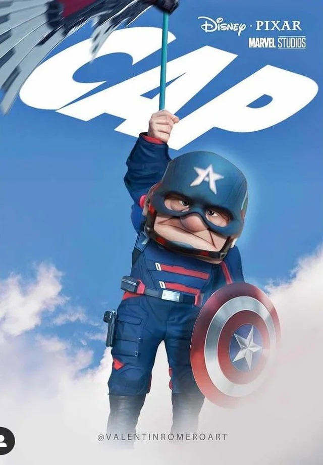 Your NEW Captain America
