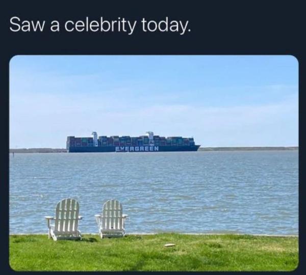 Saw a celebrity today