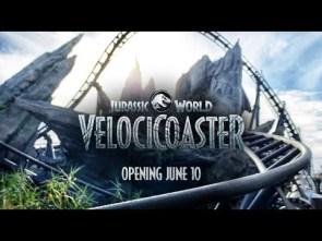 Brave the Hunt on the Jurassic World VelociCoaster