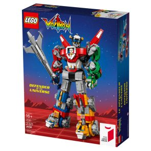 Voltron To Be Constructed During The Day