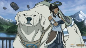 korra and her bear