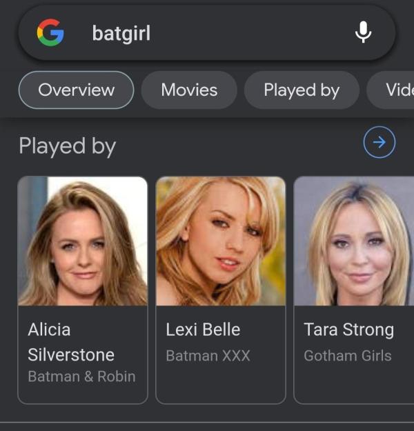 batgirl actresses