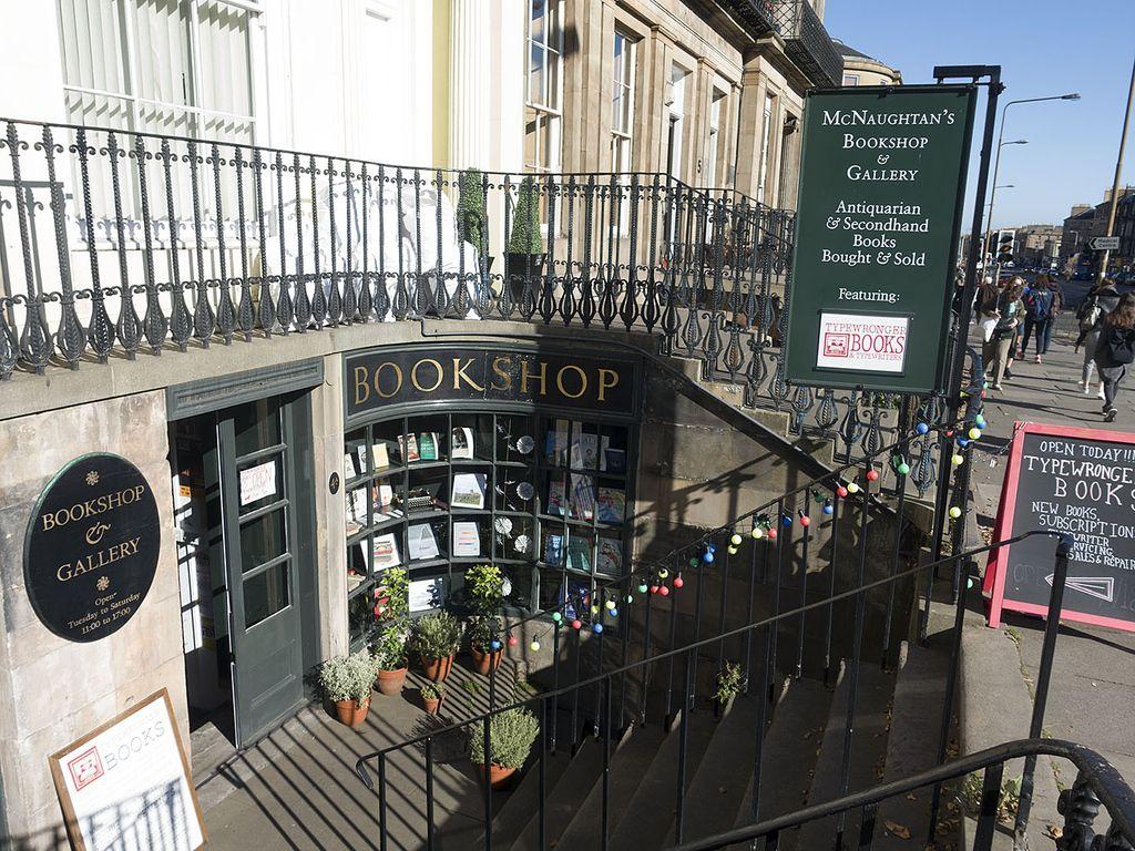 Typewronger Books Edinburgh Scotland