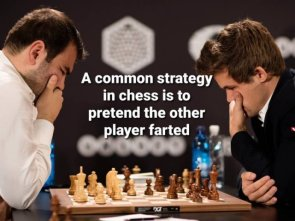 a common strategy in chess