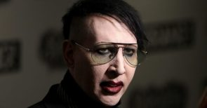 Marilyn Manson wanted in assault in New Hampshire