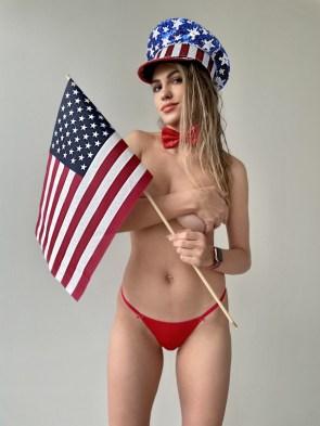 American Flag Waiver