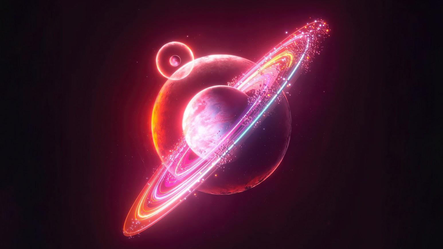 Neon Planet 3840x2160