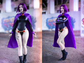 Luxlo Cosplay as Raven