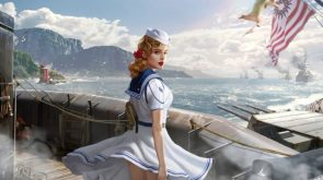 Sailor Woman With Sword